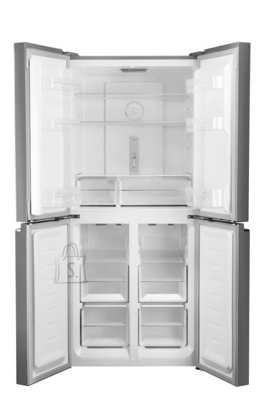 ETA ETA Refrigerator ETA139090010 A+, Free standing, Side by Side, Height 180 cm, No Frost system, Fridge net capacity 268 L, Freezer net capacity 133 L, Display, 43 dB, Stainless steel