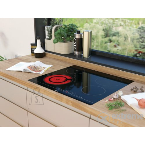 Gorenje Gorenje Hob CT43SC Glass-ceramic plate, Number of burners/cooking zones 4, Touch Control, Timer, Black