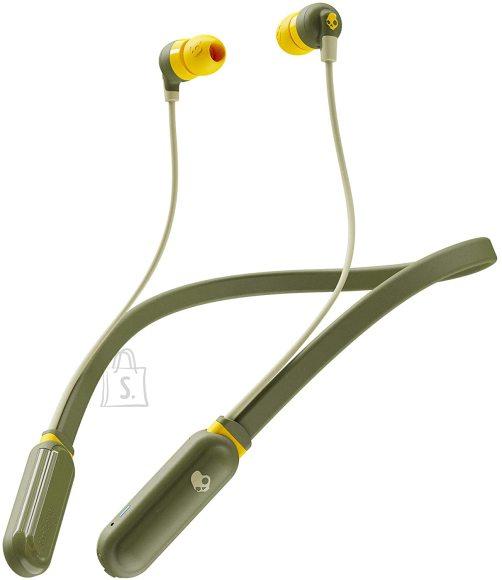 Skullcandy Skullcandy Wireless Earbuds Ink'd+ In-ear, Microphone, Wireless, Moss/Olive/Yellow