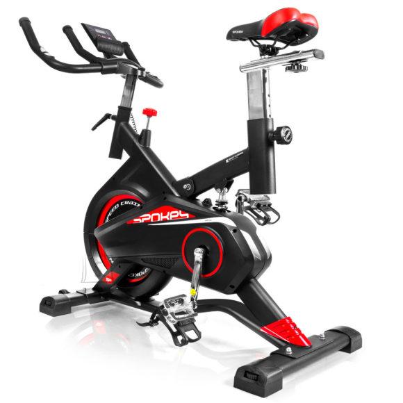 Spokey Spokey AKIRA Spinning bike, 8 manually adjustable resistance levels, 100 kg, Black, LCD display (17 x 12 x 4 cm)