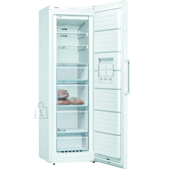Bosch Bosch Freezer GSN36VWFP A++, Free standing, Upright, Height 186 cm, No Frost system, Display, 39 dB, White