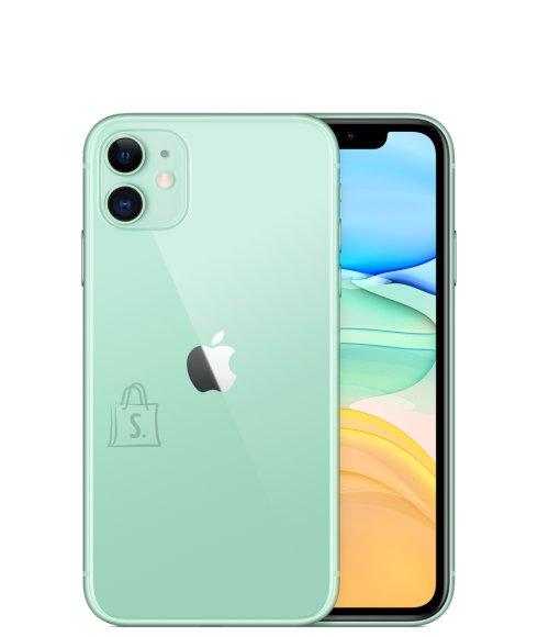"""Apple Apple iPhone 11 Green, 6.1 """", IPS LCD, 828 x 1792 pixels, Hexa-core, Internal RAM 4 GB, 64 GB, Single SIM, Nano-SIM and eSIM, 3G, 4G, Main camera 12+12 MP, Secondary camera 12 MP, iOS, 13, 3110 mAh"""