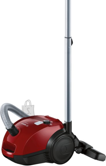 Bosch Bosch Vacuum cleaner Compaxx'x BZGL2A310 Bagged, Power 600 W, Dust capacity 3.5 L, 80 dB, Red