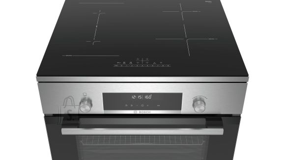 Bosch Bosch Cooker HLS79W350U Hob type Induction, Oven type Electric, Stainless steel, Width 60 cm, Electronic ignition, Grilling, LCD/TFT, 63 L, Depth 60 cm