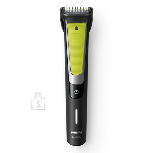Philips Philips OneBlade Pro Shaver QP6505/21 Wet & Dry Yes, Black/Green, Number of shaver heads/blades 2, Cord or Cordless