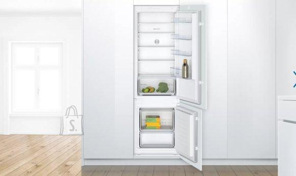 Bosch Bosch Serie 2 Refrigerator KIV87NSF0 Energy efficiency class F, Built-in, Combi, Height 177 cm, Fridge net capacity 200 L, Freezer net capacity 70 L, 39 dB, White