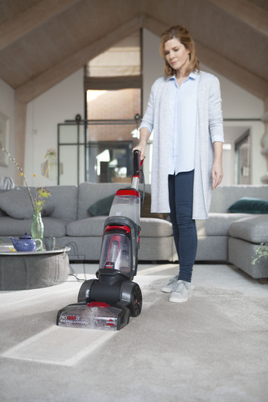 Bissell Bissell Carpet Cleaner ProHeat 2x Revolution Corded operating, Handstick, Washing function, 800 W, Red/Titanium, Warranty 24 month(s)