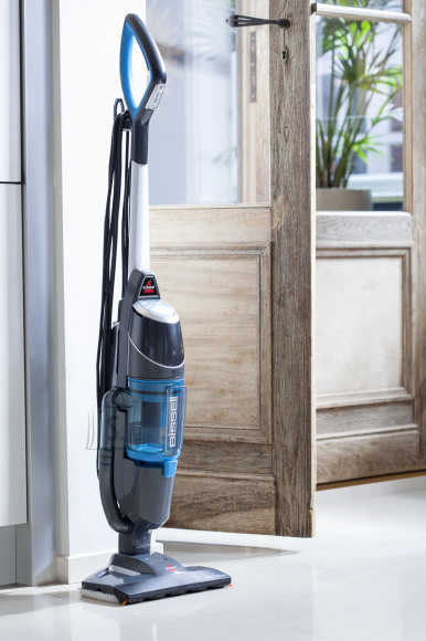 Bissell Bissell Vacuum and steam cleaner Vac & Steam Corded operating, 1600 W, Noise level 81 dB, Blue/Titanium