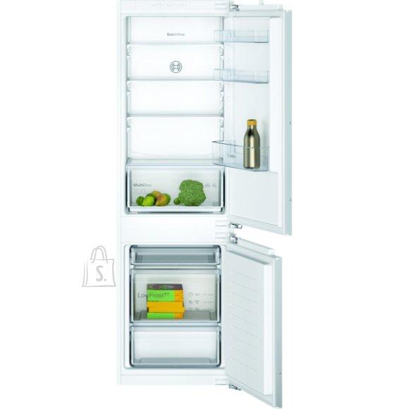 Bosch Bosch Refrigerator KIV86NFF0 A+, Built-in, Combi, Height 177 cm, Fridge net capacity 182 L, Freezer net capacity  83 L, 39 dB, White