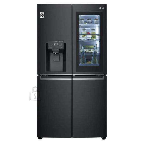 LG LG InstaView Door-in-Door Refrigerator GMX945MC9F A+, Free standing, Side by side, Height 179.3 cm, No Frost system, Fridge net capacity 364 L, Freezer net capacity 199 L, Display, 40 dB, Black