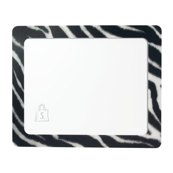 Logilink Logilink ID0168 Mouse pad, 230x190 mm, Photo, Zebra