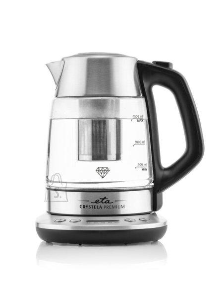 ETA ETA Kettle Crystela Premium ETA915390000 Electric, 2200 W, 1.5 L, Glass, 360° rotational base, Stainless steel/Glass