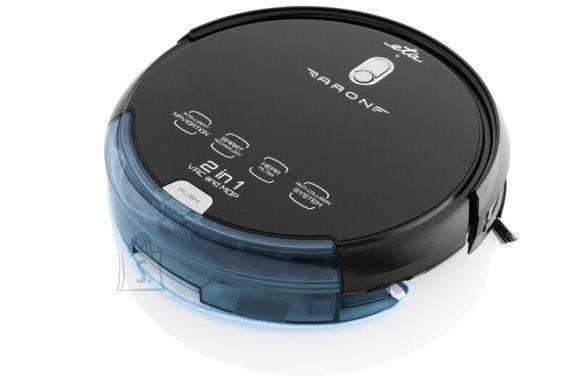 ETA ETA Vacuum cleaner Aron ETA251290000 Wet&Dry, Operating time (max) 120 min, Lithium Ion, 2400 mAh, Dust capacity 0.3 L, Black