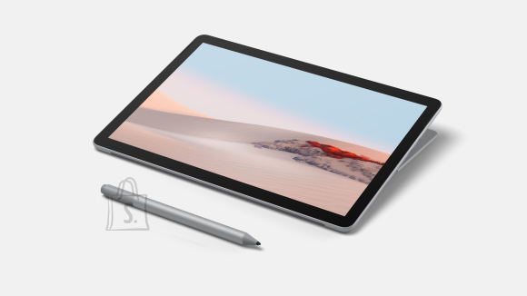 "Microsoft Microsoft Surface Go 2 Platinum, 10.5 "", Touchscreen, 1920 x 1280 pixels, Intel Pentium, Gold 4425Y, 4 GB, SSD 64 GB, Intel UHD 615, Windows 10 Home in S mode, 802.11a/b/g/n/ac/ax, Bluetooth version 5.0, Warranty 24 month(s)"