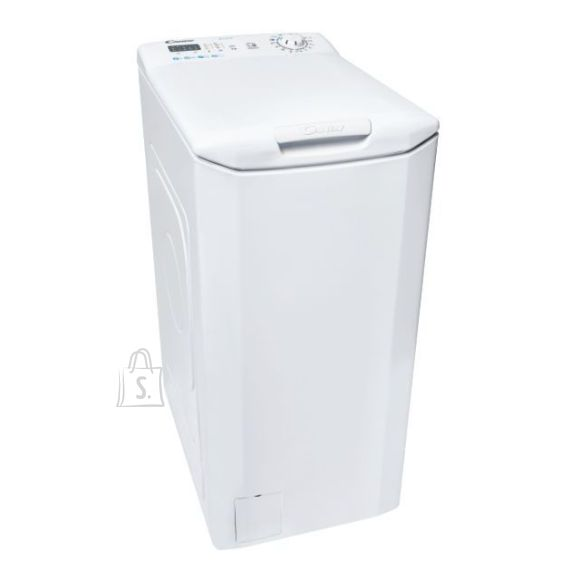 Candy Candy Washing machine CST 06LE/1-S Energy efficiency class E, Top loading, Washing capacity 6 kg, 1000 RPM, Depth 60 cm, Width 40.5 cm, LED, White
