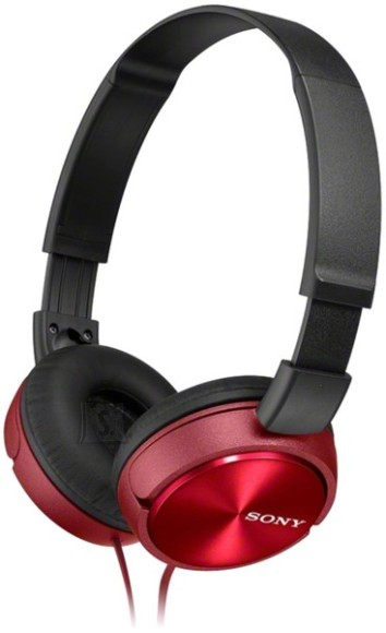 Sony Sony MDR-ZX310APR headphones Stereo Headset, Red Sony