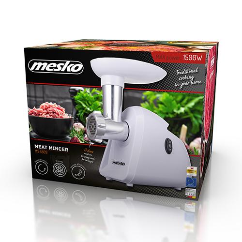 Mesko Mesko Meat mincer MS 4809 White, 350 W