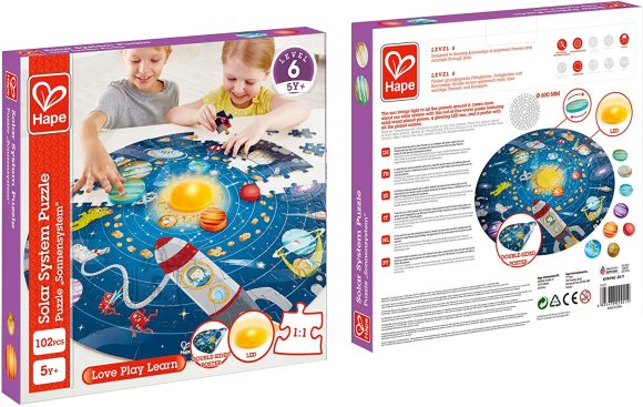 HAPE Solar System Puzzle, E1625
