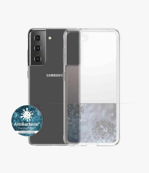 PanzerGlass PanzerGlass Case Samsung, Galaxy S21 Series, Thermoplastic polyurethane (TPU), Clear