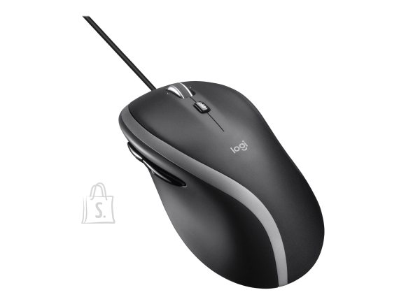 Logitech Logitech Advanced Corded Mouse M500s Optical Mouse, Wired, Black