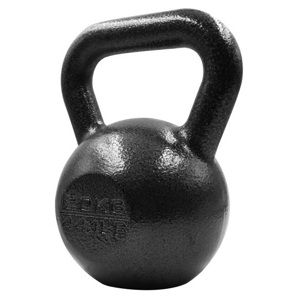 PROIRON PRKHKB20K Kettlebell Weight, 1 pc, 20 kg, Black, Cast Iron