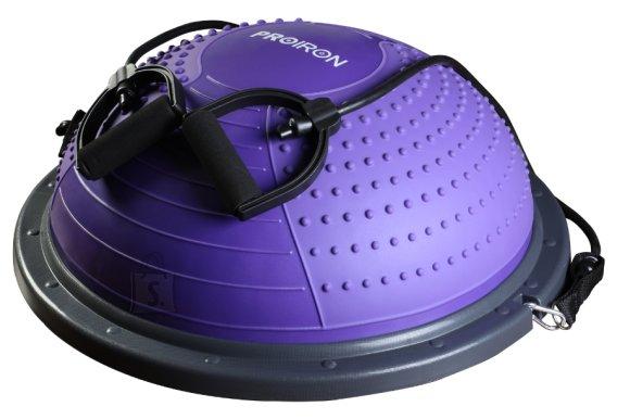 ProIron Balance Trainer Purple, PVC / PP / TPR, 60 x 23 cm, max 300 kg