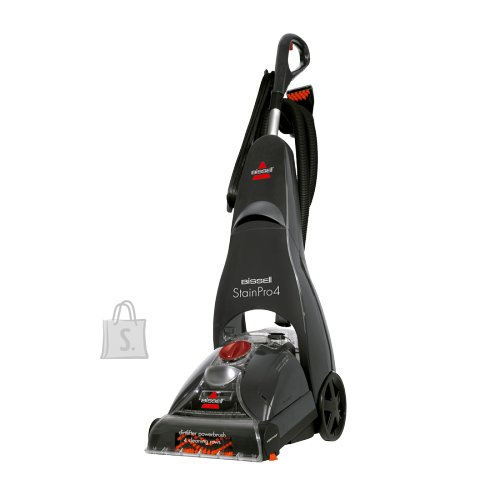 Bissell Bissell Carpet Cleaner StainPro 4 Corded operating, Handstick, Washing function, 800 W, Red/Titanium, Warranty 24 month(s)
