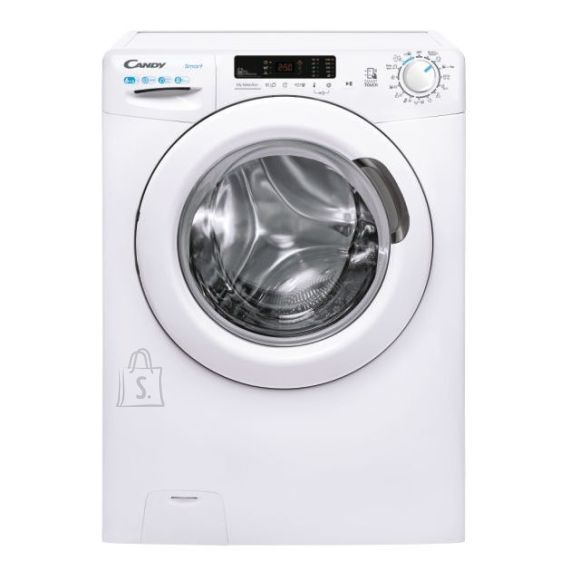 Candy Candy Washing Machine with Dryer CSWS4 3642DE/2-S Energy efficiency class D, Front loading, Washing capacity 6 kg, 1300 RPM, Depth 43.2 cm, Width 60 cm, Drying system, Drying capacity 4 kg, Steam function, NFC, White