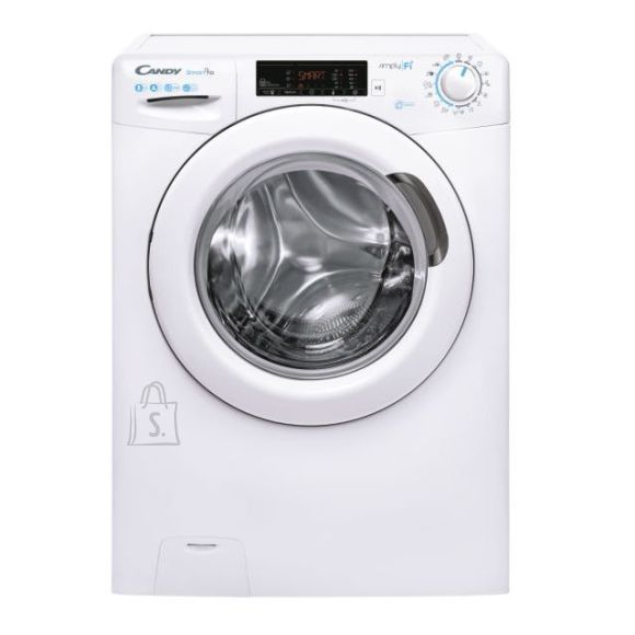 Candy Candy Washing mashine CSO 1285T3-S Energy efficiency class A+++, Front loading, Washing capacity 8 kg, 1200 RPM, Depth 52 cm, Width 60 cm, Digital, Steam function, Wi-Fi, White
