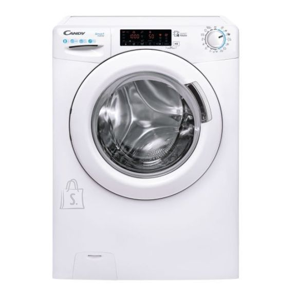 Candy Candy Washing machine CS44 128TXME/2-S Energy efficiency class A, Front loading, Washing capacity 8 kg, 1200 RPM, Depth 46.9 cm, Width 60 cm, Touch, White