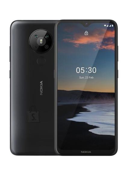 "Nokia Nokia 5.3 TA-123 6.55 "", Charcoal, IPS LCD, 720 x 1600 pixels, Qualcomm SM6125 Snapdragon 665, Dual SIM, Nano-SIM, 4.2, Internal RAM 3 GB, 64 GB, MicroSDXC, 3G, 4G, Main camera 13+5+2+2 MP, Secondary camera 8 MP, Android, 10.0, 4000 mAh"