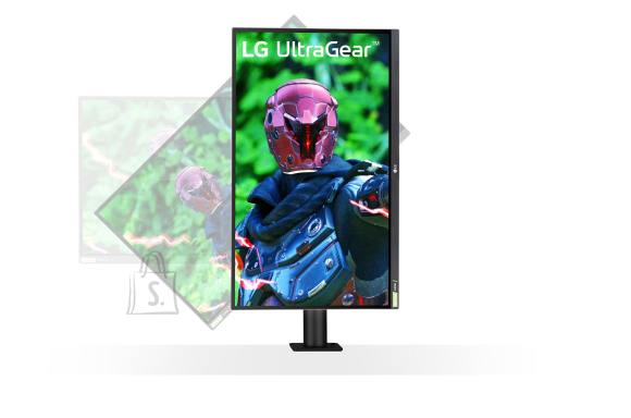 "LG LG UltraGear Ergo Gaming Monitor 27GN880-B 27 "", IPS, QHD, 2560 x 1440 pixels, 16:9, 1 ms, 350 cd/m², Black"