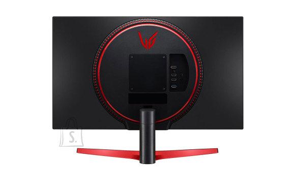 "LG LG UltraGear Gaming Monitor 27GN600-B 27 "", IPS, FHD, 1920 x 1080 pixels, 16:9, 1 ms, 350 cd/m?, Black/Red"