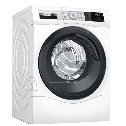 Bosch Bosch Serie 6 Washing Machine With Dryer WDU8H541SN Energy efficiency class C, Front loading, Washing capacity 10 kg, 1400 RPM, Depth 61.6 cm, Width 60 cm, Display, LED, Drying system, Drying capacity 6 kg, Wi-Fi, White