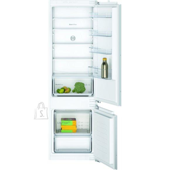 Bosch Bosch Serie 2 Refrigerator KIV87NFF0 Energy efficiency class F, Built-in, Combi, Height 177 cm, Fridge net capacity 200 L, Freezer net capacity 70 L, 39 dB, White