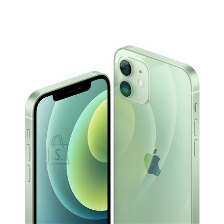 "Apple Apple iPhone 12 Green, 6.1 "", XDR OLED, 2532 x 1170 pixels, Apple, A14 Bionic, Internal RAM 4 GB, 64 GB, Single SIM, Nano-SIM and eSIM, 3G, 4G, Main camera Dual 12+12 MP, Secondary camera 12 MP, iOS, 14, 2815 mAh"