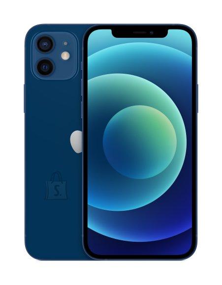 "Apple Apple iPhone 12 Blue, 6.1 "", XDR OLED, 2532 x 1170 pixels, Apple, A14 Bionic, Internal RAM 4 GB, 64 GB, Single SIM, Nano-SIM and eSIM, 3G, 4G, Main camera Dual 12+12 MP, Secondary camera 12 MP, iOS, 14, 2815 mAh"