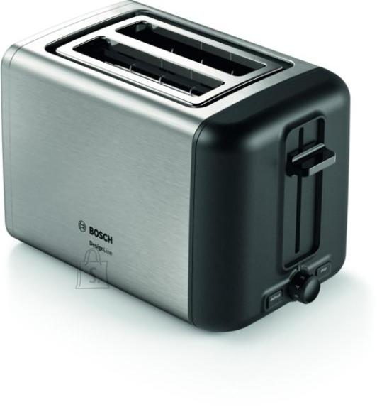 Bosch Bosch Toaster DesignLine TAT5P420 Power 970 W, Number of slots 2, Housing material Stainless steel, Stainless steel