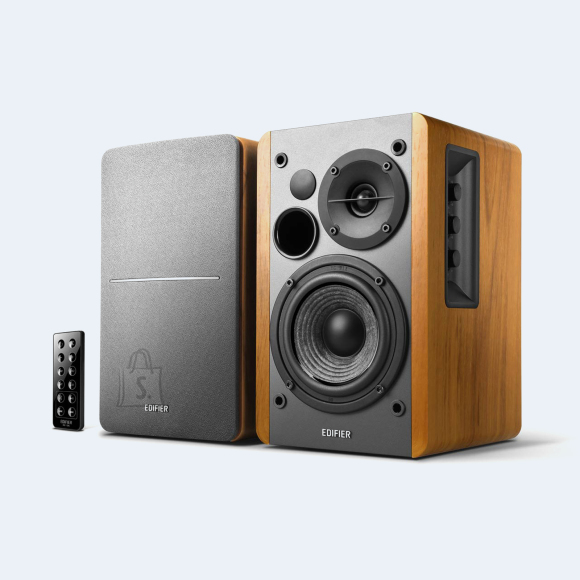 Edifier Edifier Powered Bluetooth Speakers R1280DBS Brown, Bluetooth, Wireless connection