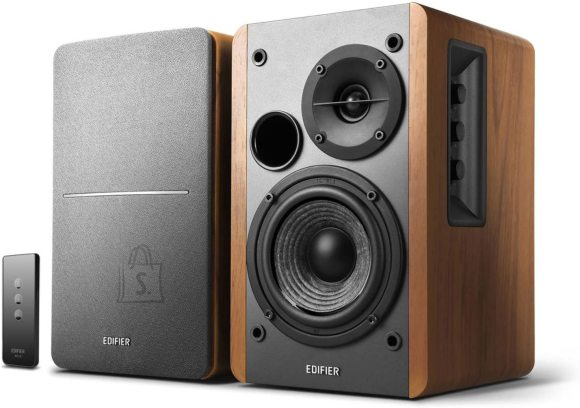 Edifier Edifier Powered Bookshelf Speakers SR1280TS Brown, Wireless connection