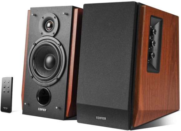 Edifier Edifier Active Bluetooth Bookshelf Speakers R1700BTS Brown, Bluetooth, Wireless connection