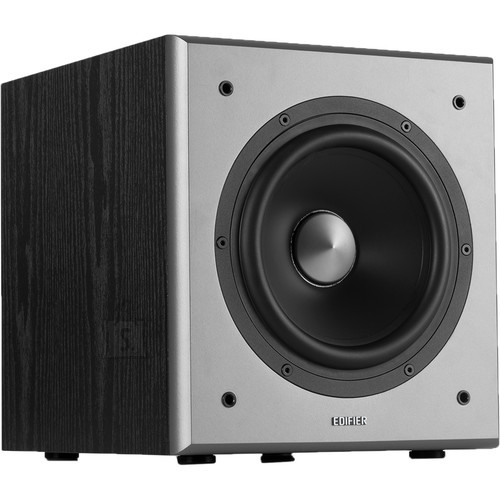 Edifier Edifier Powered Subwoofer T5 Stereo RCA in, Stereo RCA out, Black, 70 W