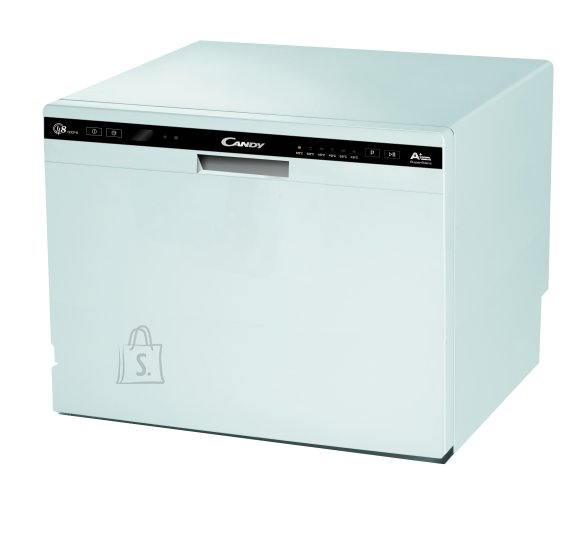 Candy Candy Dishwasher CDCP 8 Free standing, Width 55 cm, Number of place settings 8, A+, White
