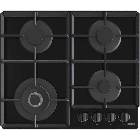 Gorenje Gorenje Hob GTW641EB Gas on glass, Number of burners/cooking zones 4, Mechanical, Black