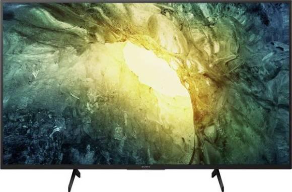"""Sony Sony KD43X7055BAEP 43"""" (108 cm), Smart TV, 4K UHD, 3840 x 2160, Wi-Fi, DVB-T2/S2/C, Black"""
