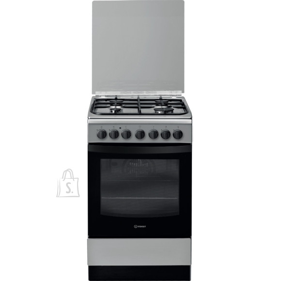 Indesit INDESIT Cooker IS5G5PHX/E Hob type  Gas, Oven type Electric, Stainless steel, Width 50 cm, Grilling, 60 L, Depth 60 cm
