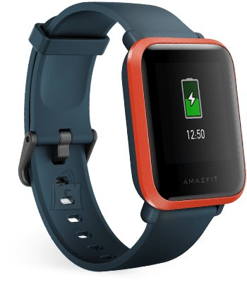 Amazfit Bip S Smart watch, GPS (satellite), Transflective Color Display, Touchscreen, Heart rate monitor, Activity monitoring 24/7, Waterproof, Bluetooth