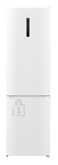Gorenje Gorenje Refrigerator NRK6202AW4 A++, Free standing, Combi, Height 200 cm, No Frost system, Fridge net capacity 235 L, Freezer net capacity 96 L, Display, 38 dB, White
