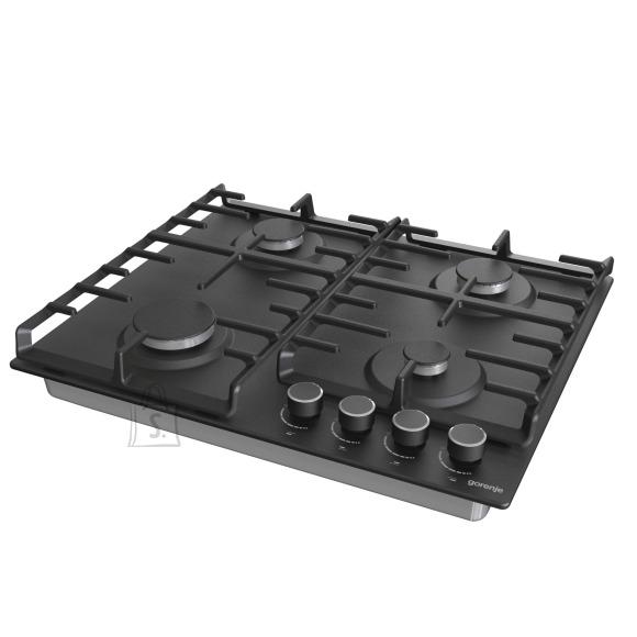 Gorenje Gorenje Hob G642AB Gas, Number of burners/cooking zones 4, Mechanical, Black