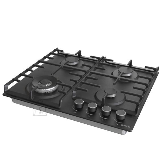 Gorenje Gorenje Hob GW642AB Gas, Number of burners/cooking zones 4, Mechanical, Black